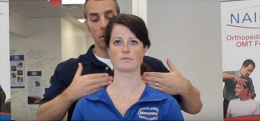 Testing ROM in the Cervical Spine Without a Goniometer