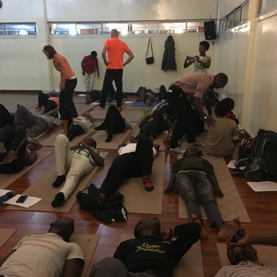 Yoga and OMPT or … When the Students Become theTeachers