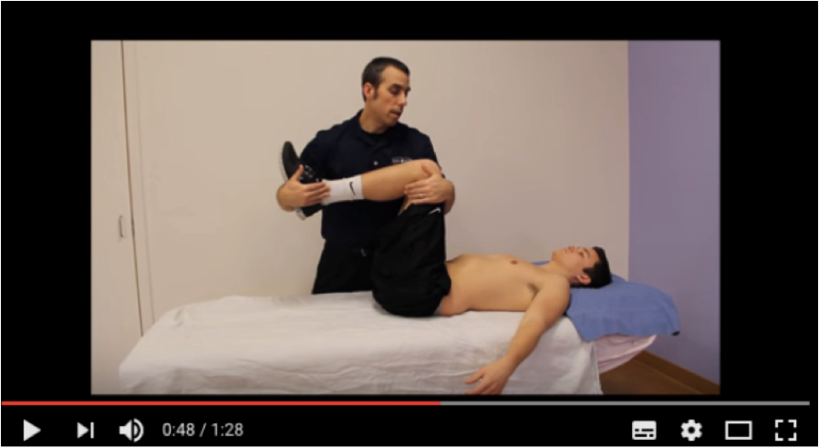 Lumbar Compression Test (Video)