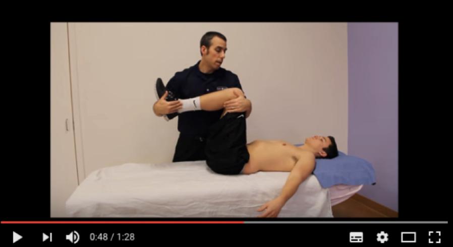 Lumbar Compression Test(Video)