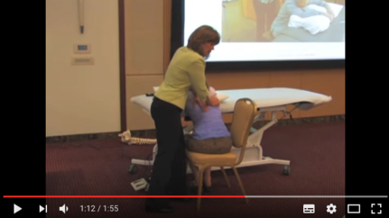 Seated Thoracic Spine Mobilization (Video)