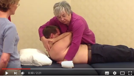 Alternative Thoracic Gapping Video