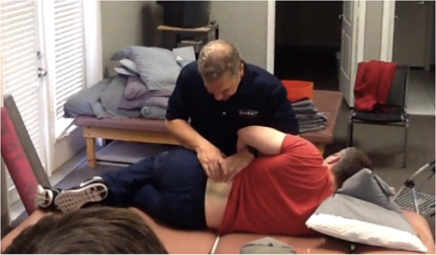 Positional Release Technique of the quadratus lumborum