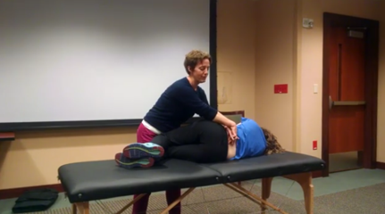Anterior Shear Test of The Lumbar Spine