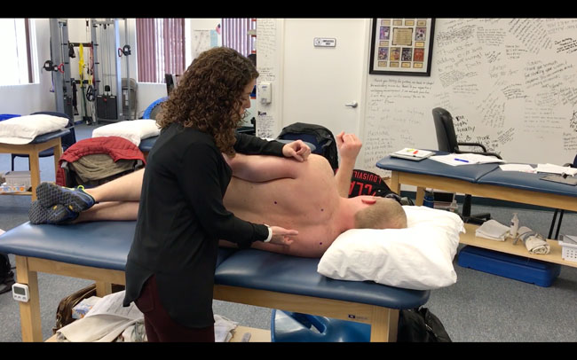 Side-lying Scapular Activation