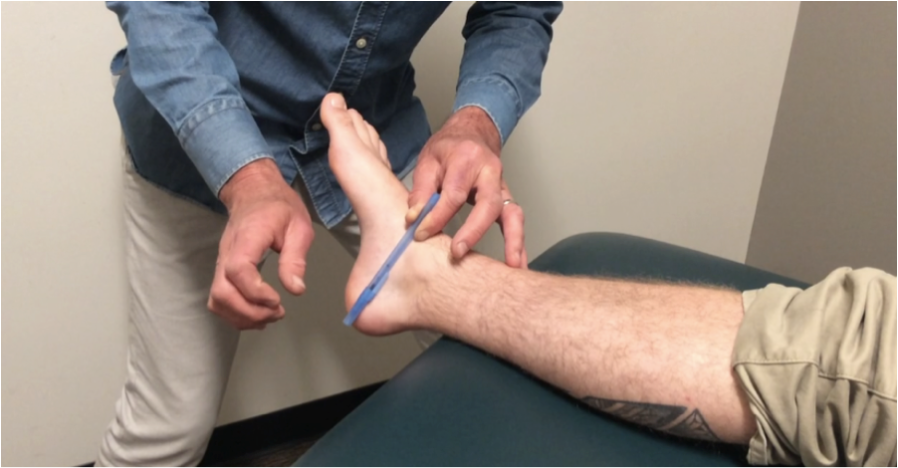 Subtalar Joint: Manual Therapy Examination & Assessment of Glide in Eversion & Abduction